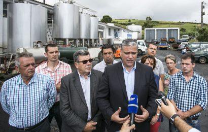 """Cordeiro salienta o investimento público na """"valorização dos produtos lácteos"""""""