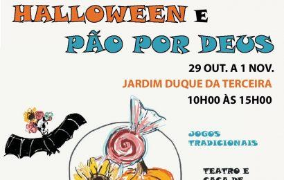 Jardim Duque da Terceira recebe atividades no Halloween e Pão por Deus