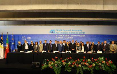 Açores mantêm presidência da Conferência das Regiões Periféricas Marítimas da Europa