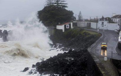 Previsão de agravamento do estado do mar a partir de hoje nas ilhas Terceira e Graciosa