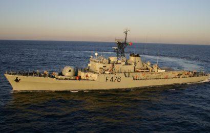 Corveta Jacinto Cândido iniciou missão de segurança no Mar dos Açores