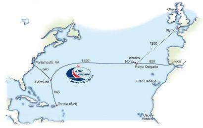 Primeiras embarcações da ARC Europe chegam domingo à Marina da Horta