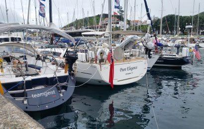 Veleiros vencedores da 2ª perna da ARC Europe 2017 já estão na Horta