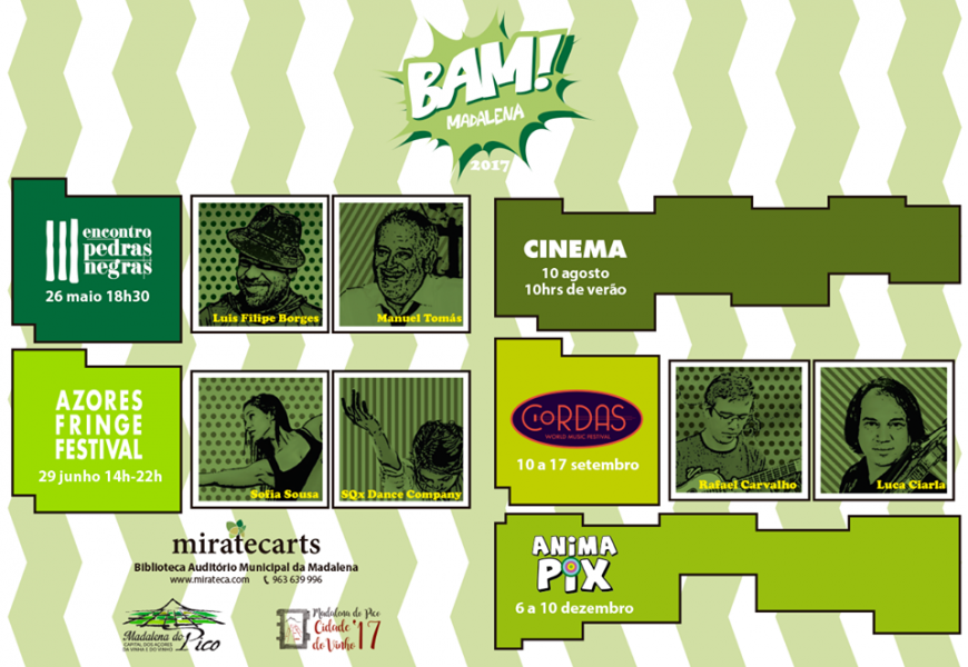 MiratecArts lança temporada do programa de eventos `BAM! Madalena´