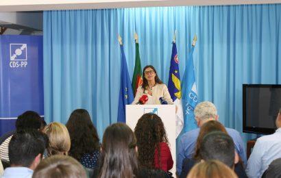 Graça Silveira é candidata pelo CDS-PP ao município de Angra do Heroísmo