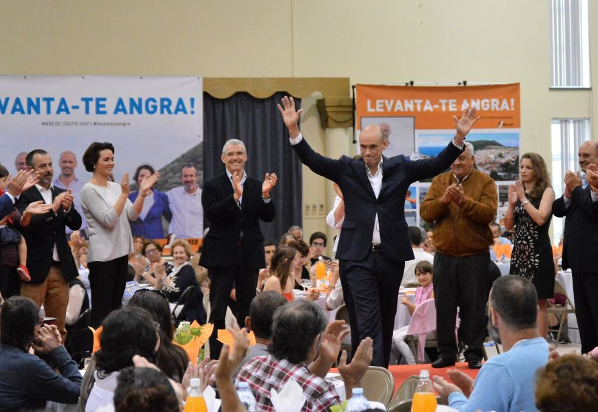 Marcos Couto defende uma voz ativa para o concelho de Angra do Heroísmo
