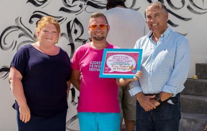 Festival Azores Fringe recebe prémio internacional de reconhecimento