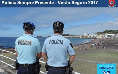 PSP leva a cabo operação para garantir segurança durante o verão nos Açores