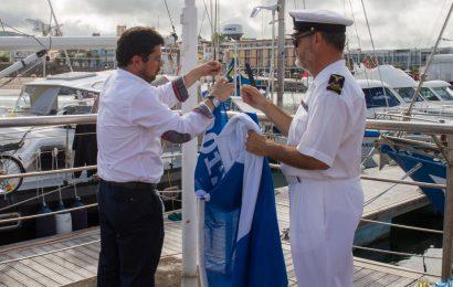 Marina da Praia da Vitória recebe galardão da Bandeira Azul