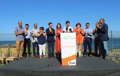 Cláudia Martins quer reduzir encargos para atrair empresas para a Praia da Vitória