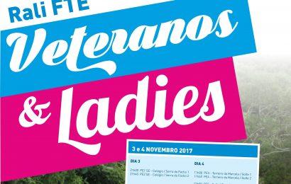Rali FTE – Ladies & Veteranos disputa-se no próximo fim de semana
