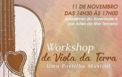 Município da Praia da Vitória valoriza tradições locais com Workshop de Viola da Terra